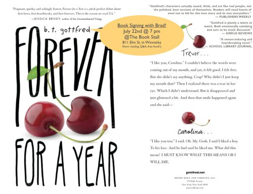 Forever for a Year: Book Signing!